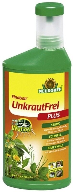 neudorff finalsan unkrautfrei plus konzentrat 500 ml ebay. Black Bedroom Furniture Sets. Home Design Ideas