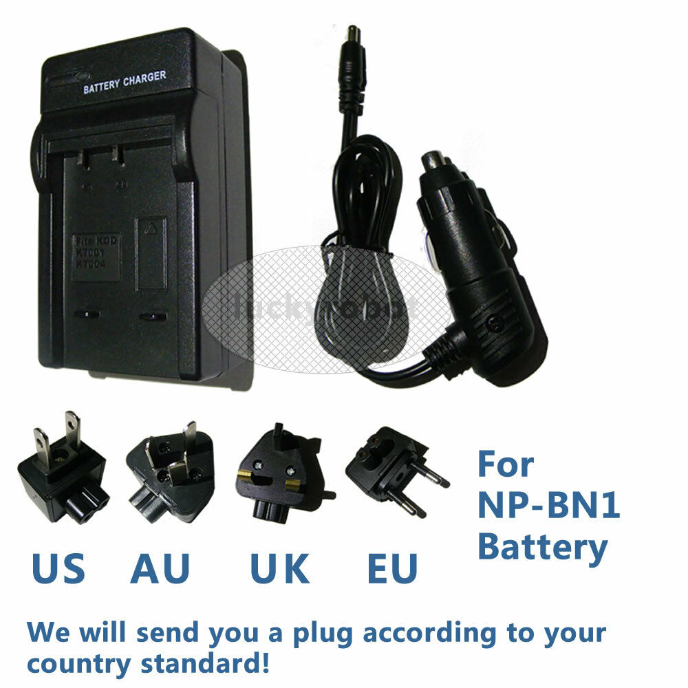 Battery Charger For Sony Cyber Shot Dsc W800 Dsc W810