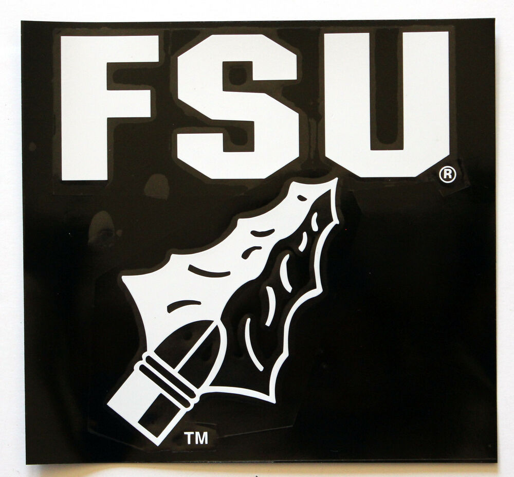 Licensed Ncaa Vinyl Window Decal Florida State University