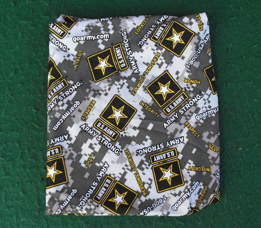 Material Of Book Cover : Us army cloth material camo style quot tall book cover usa