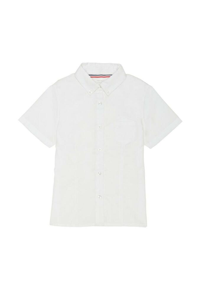Girls White Oxford Shirt French Toast Short Sleeve School