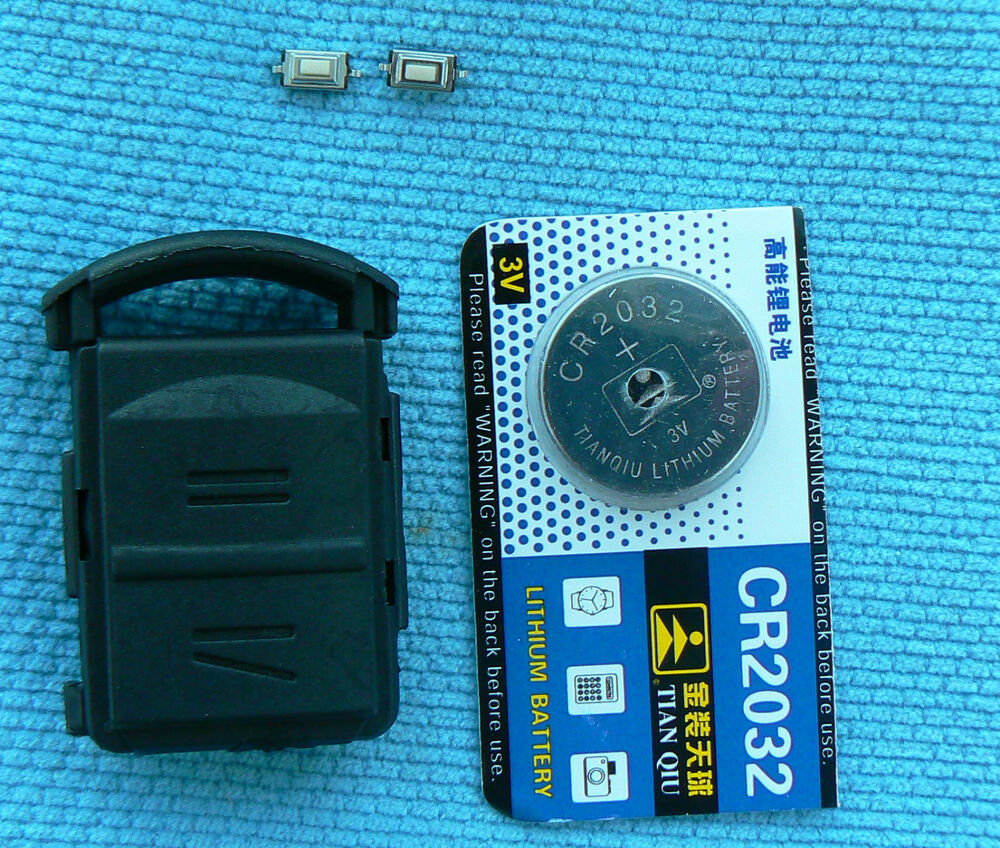 vauxhall astra corsa 2 button key fob case battery micro switch repair kit ebay. Black Bedroom Furniture Sets. Home Design Ideas