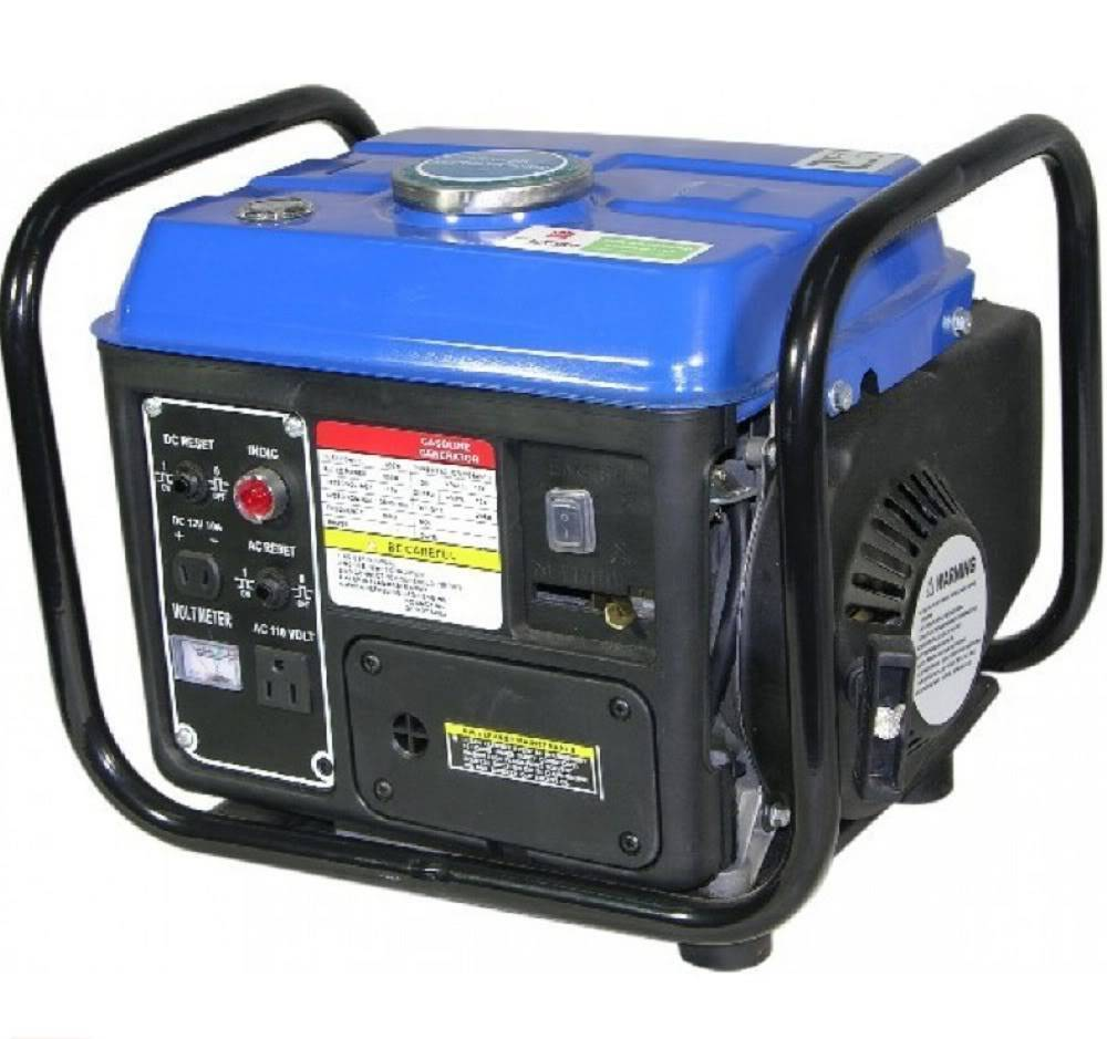 Portable Gas Generators : Portable gas generator w emergency home back up power