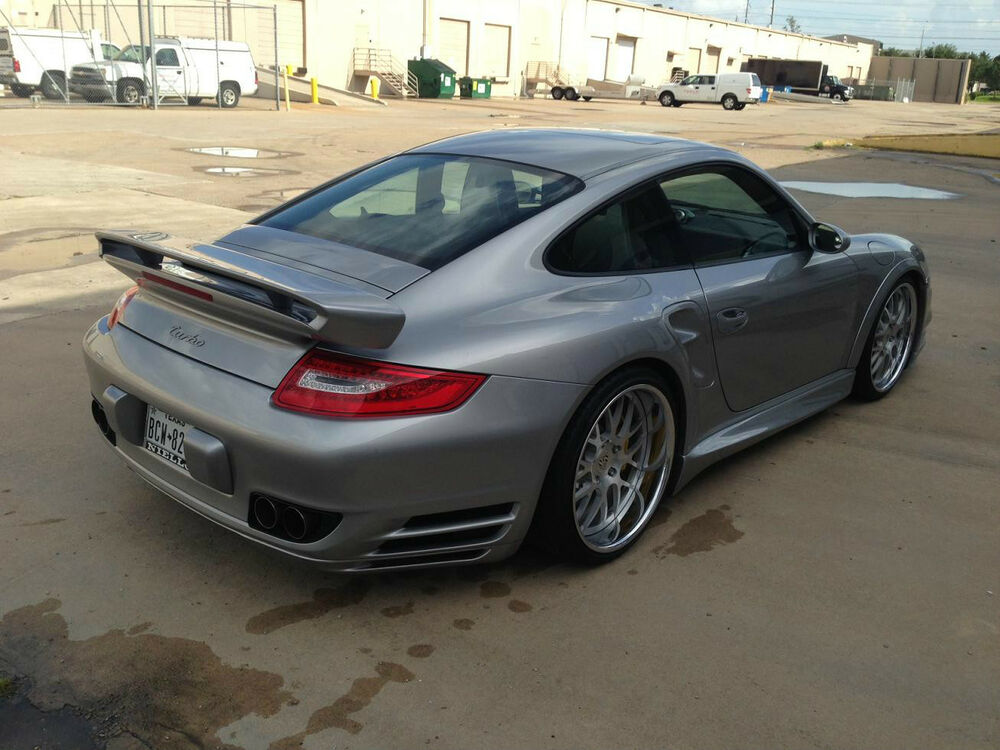 porsche 997 turbo gt top spoiler rear add on wing tail kit. Black Bedroom Furniture Sets. Home Design Ideas