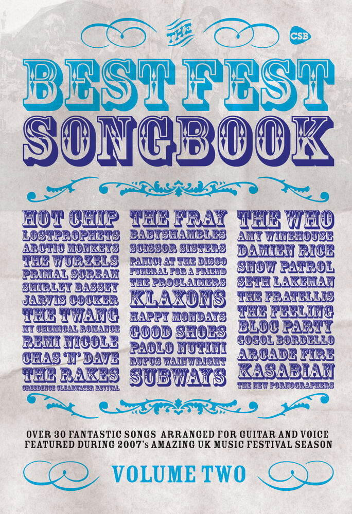 Best Fest Volume 2 Folk Rock Guitar Chords Voice Learn To Play Faber