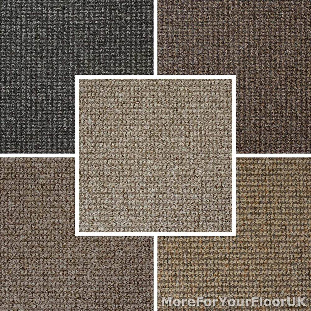 Cheap carpet stain resistant loop pile brown grey beige for Cheap carpet