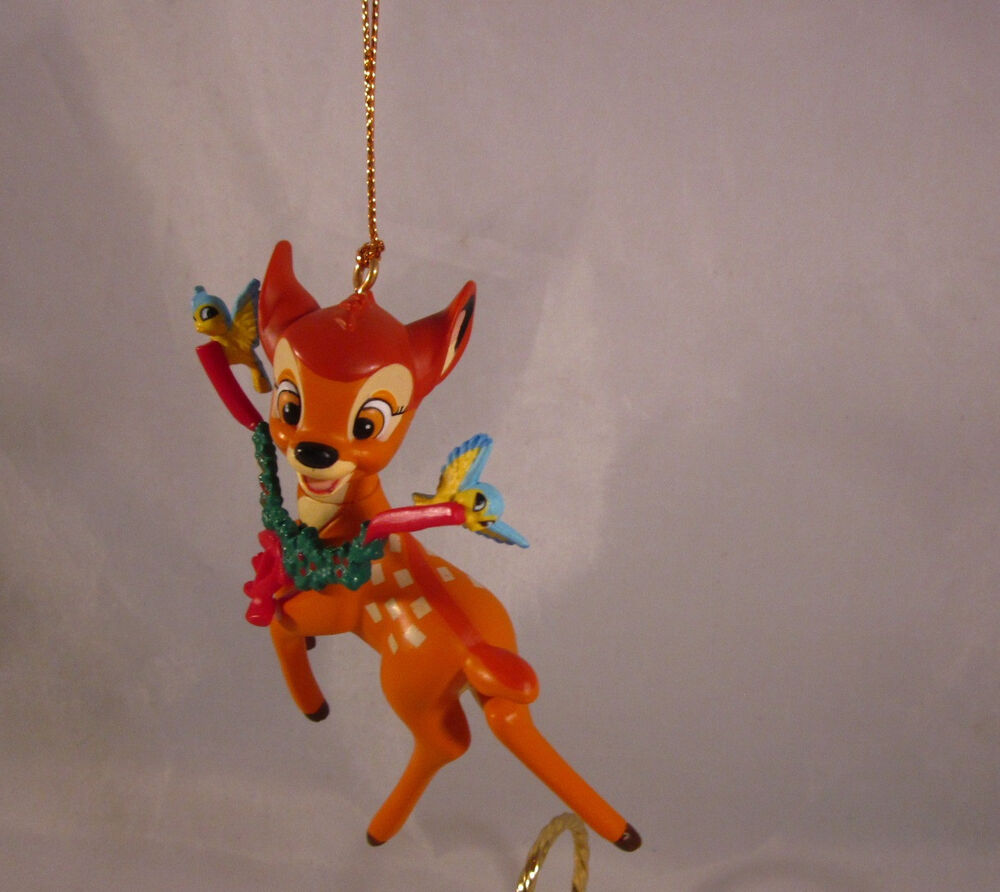 Disney Grolier Bambi Blue Birds Ornament Christmas Magic ...