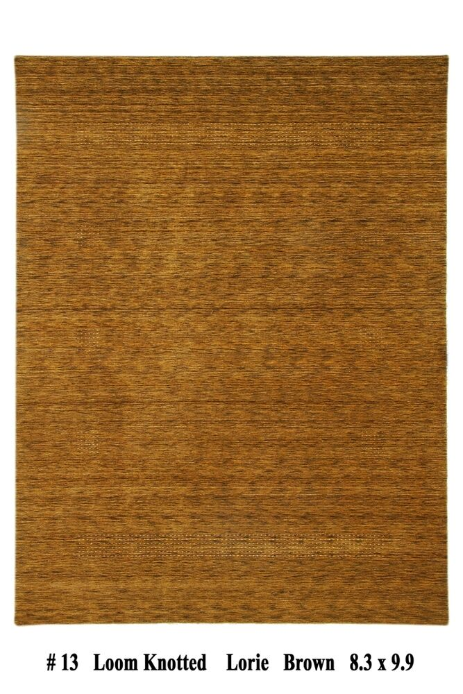 Handmade 8 39 x 10 39 modern area rug contemporary hand woven for Contemporary wool area rugs
