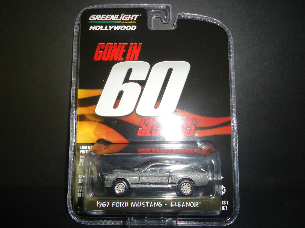 Greenlight Ford Mustang Eleanor 1967 Gone in 60 Seconds 1 ...