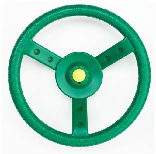 Swing-N-Slide GREEN STEERING WHEEL CAR Playground Swingset Park ...