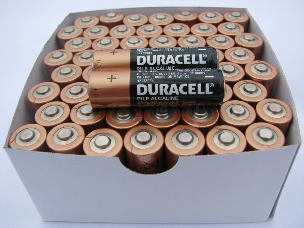 100 Aa Alkaline Duracell Batteries 1 5v Wholesale New 2021