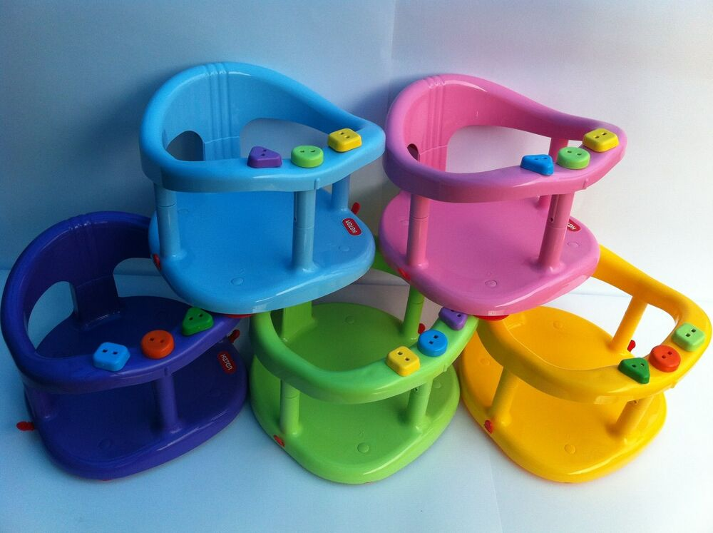 new baby bath ring tub seat for infant kids by keter in box help mother gift ebay. Black Bedroom Furniture Sets. Home Design Ideas