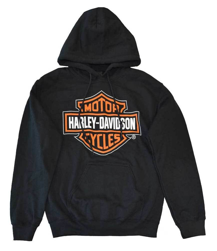 harley davidson men 39 s hooded sweatshirt pullover bar