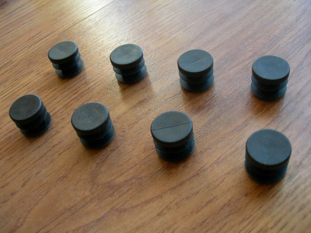 Round quot od plastic ribbed finishing plugs for tube