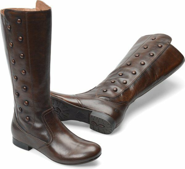 s born high flat boot martika brown cognac