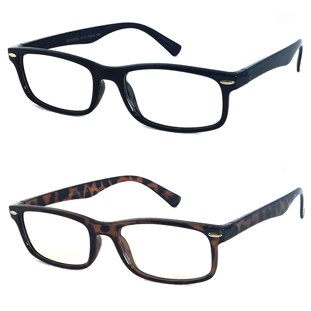 mens womens leightweight retro rectangle frame small