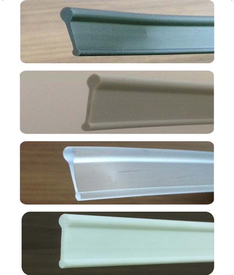 Soft Rubber Shower Seal For Folding Bath Screen White Grey