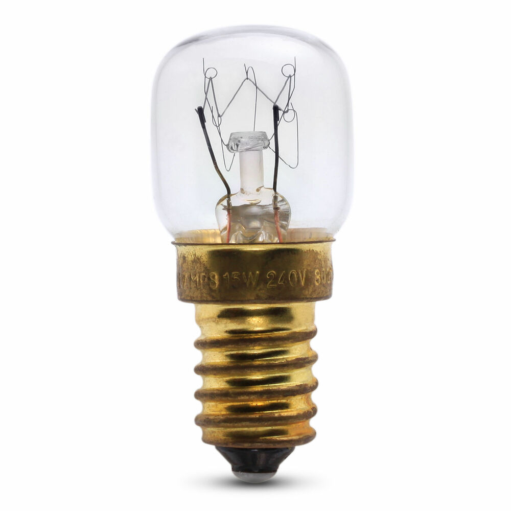15w ses e14 oven bulb lamp light bulb 300 degree x1 small screw ebay Light bulb lamps