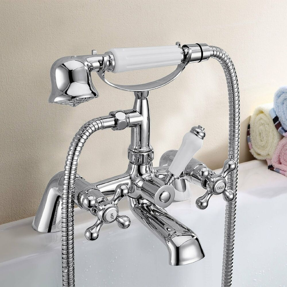 traditional victorian chrome bath shower mixer bathroom victorian bath shower mixer tap