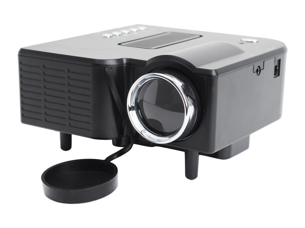 Uc 40 400 lumens portable mini led projector home cinema for Portable projector for laptop