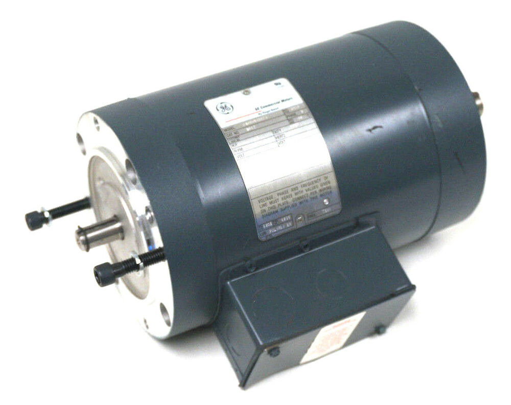 New ge 5k49un4567a electric motor 1hp k462 1725 rpm ebay for Ge motors and industrial systems