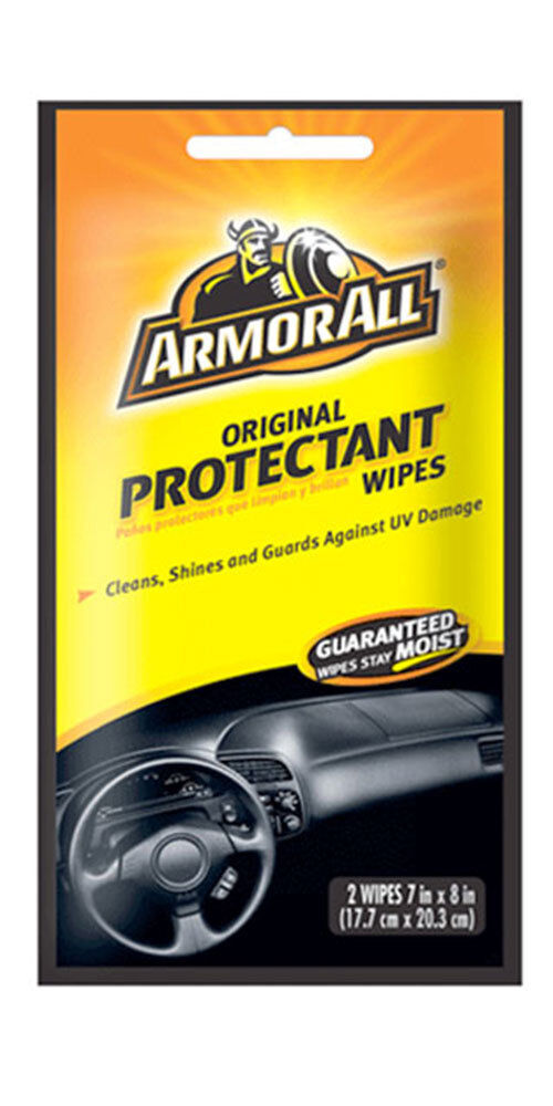 armor all original protectant wipes cleans shines and guards your car interior ebay. Black Bedroom Furniture Sets. Home Design Ideas