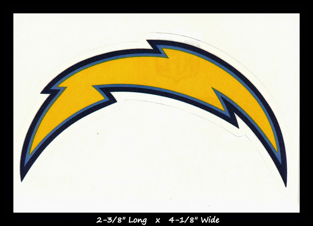 San Diego Chargers Nfl Team Logo License Football Indoor