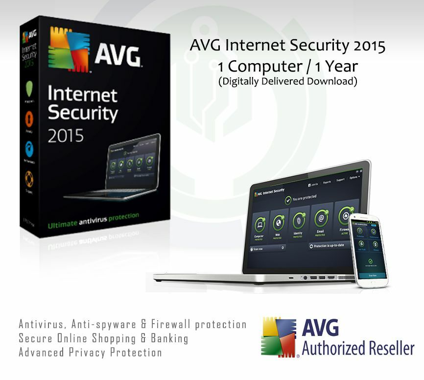 avg internet security 2015 1 computer 1 year. Black Bedroom Furniture Sets. Home Design Ideas