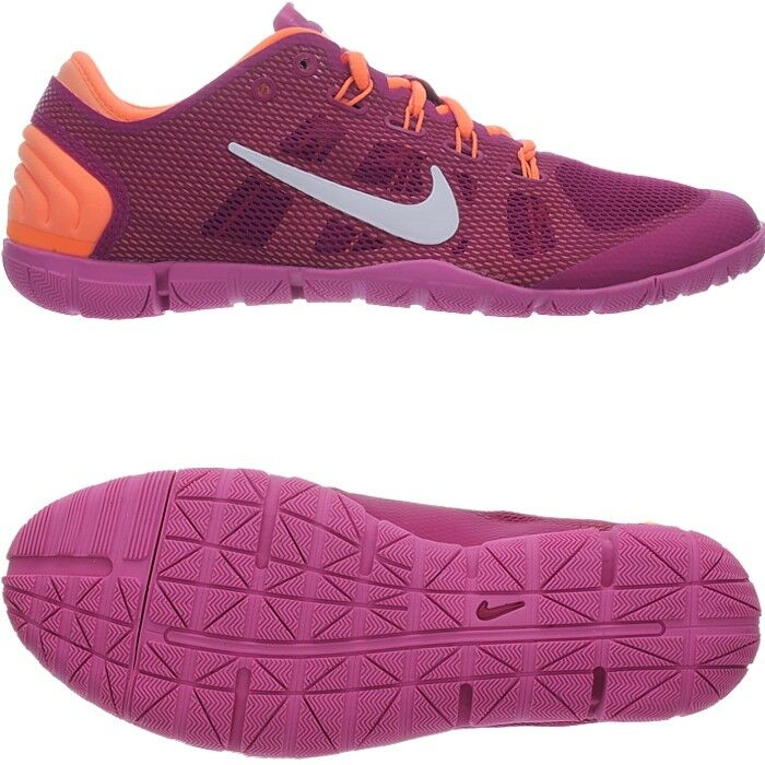 nike free bionic lila pink orange damen workout schuhe. Black Bedroom Furniture Sets. Home Design Ideas