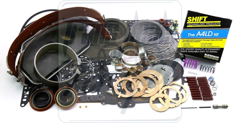 A4ld Ford Ranger Transmission Deluxe Rebuild Kit W   Level2 Shift Kit Washers