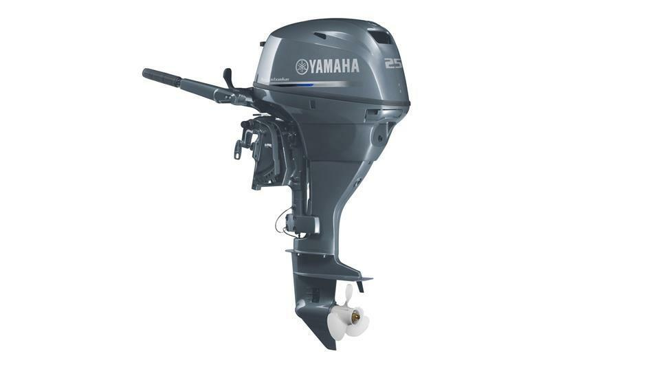 New Yamaha F 25 Dmhs Four Stroke Outboard Motor Engine Hp