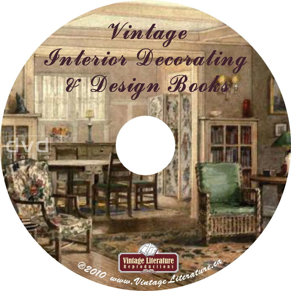 Interior design and home decor 35 vintage how to books Home interior book
