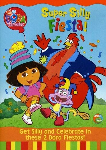 Dora the Explorer - Super Silly FIesta (DVD, 2004) from ...