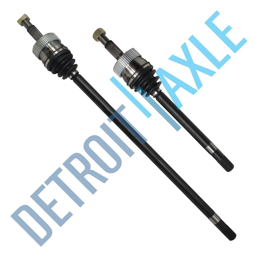 2 new jeep grand cherokee front driver and passenger cv axle shaft 4wd 4x4
