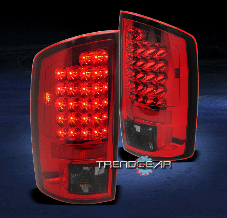 2007 2008 dodge ram 1500 2007 2009 2500 3500 truck led tail light red. Black Bedroom Furniture Sets. Home Design Ideas