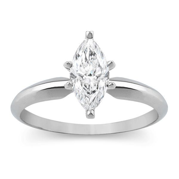 1 75 Ct Marquise Solitaire Engagement Wedding Promise Ring