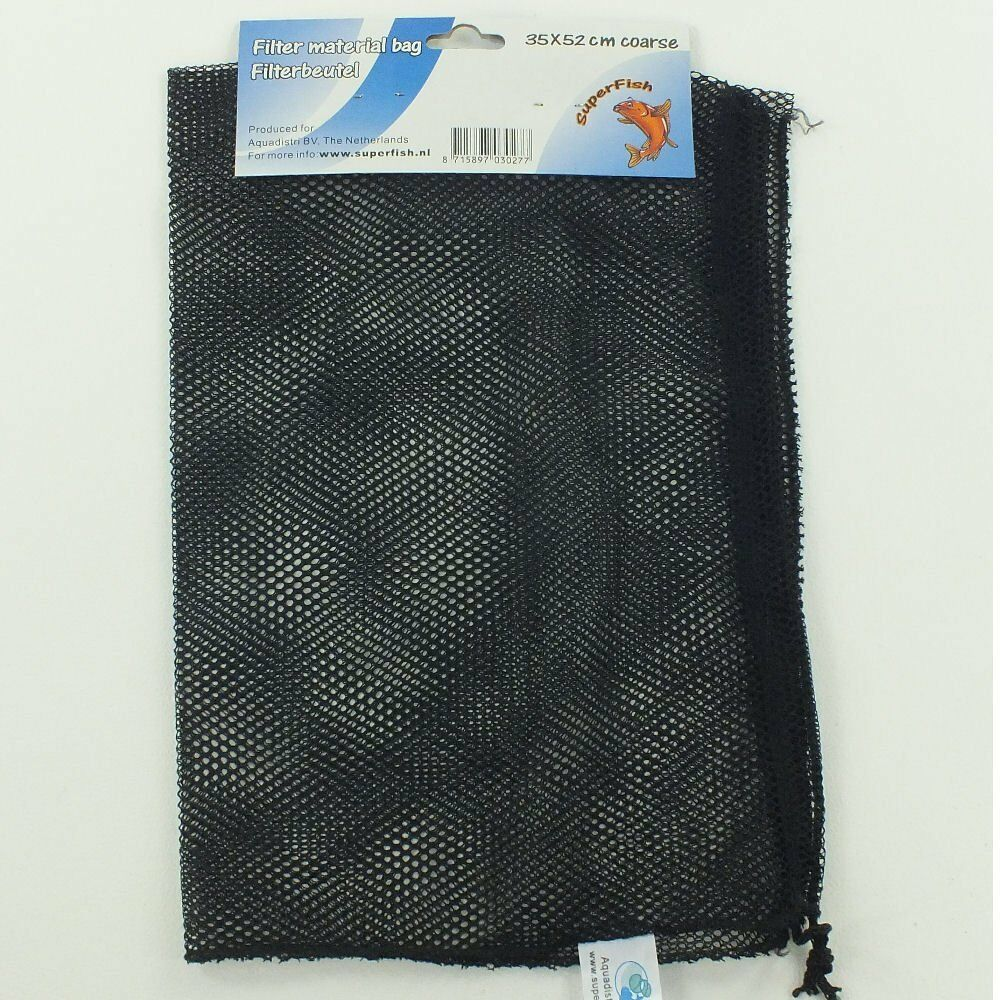 New superfish filter media material bag 15x52 35x52 50x 85 for Pond filter mesh