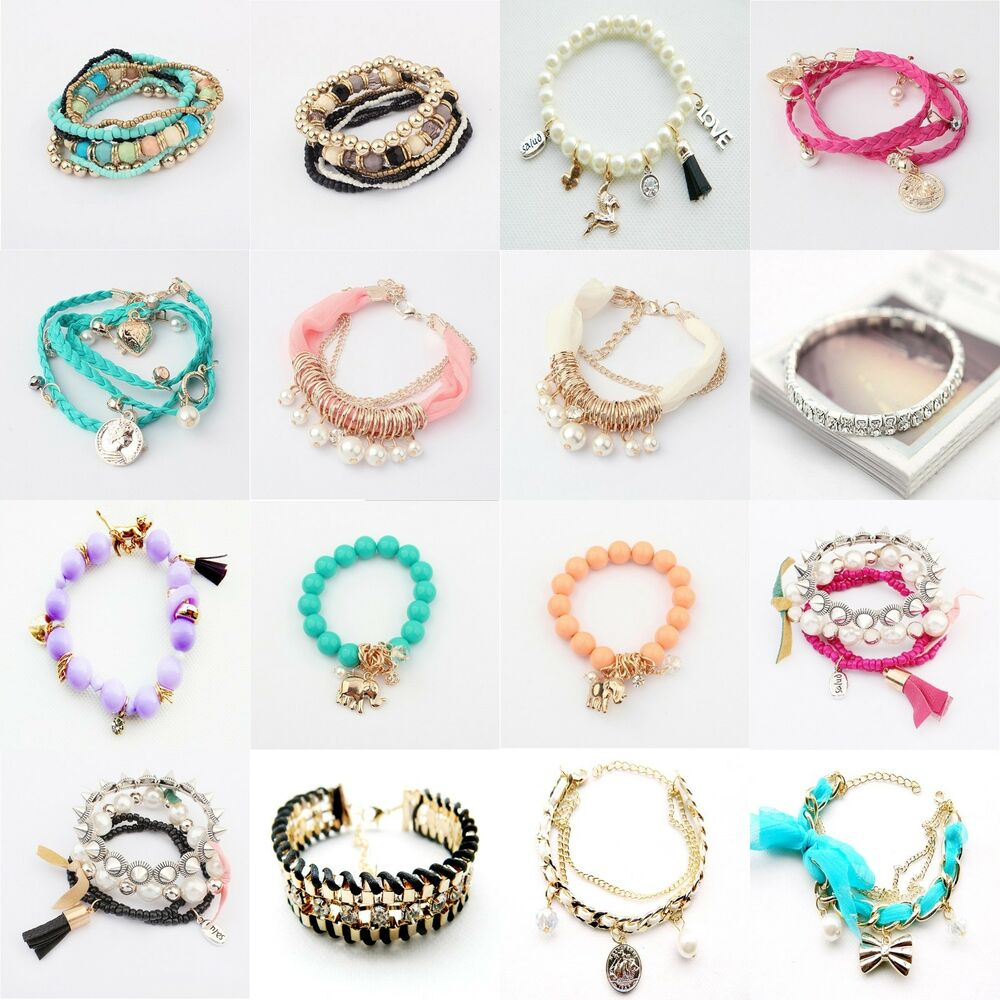 New DIY Jewelry Wholesale Fashion Style Lots Cute Lady ...
