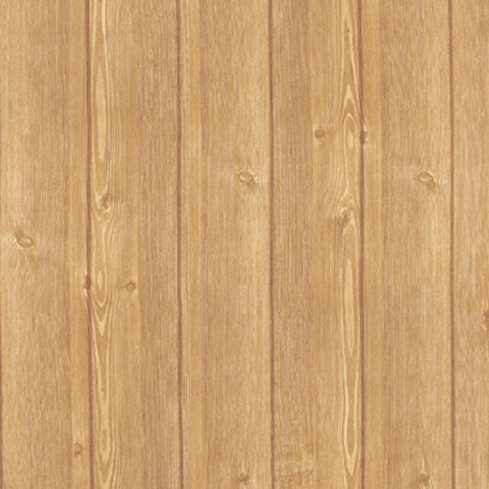 Wood plank effect self adhesive wallpaper roll vinyl home depot wall covering ebay - Wood effect bathroom wallpaper ...