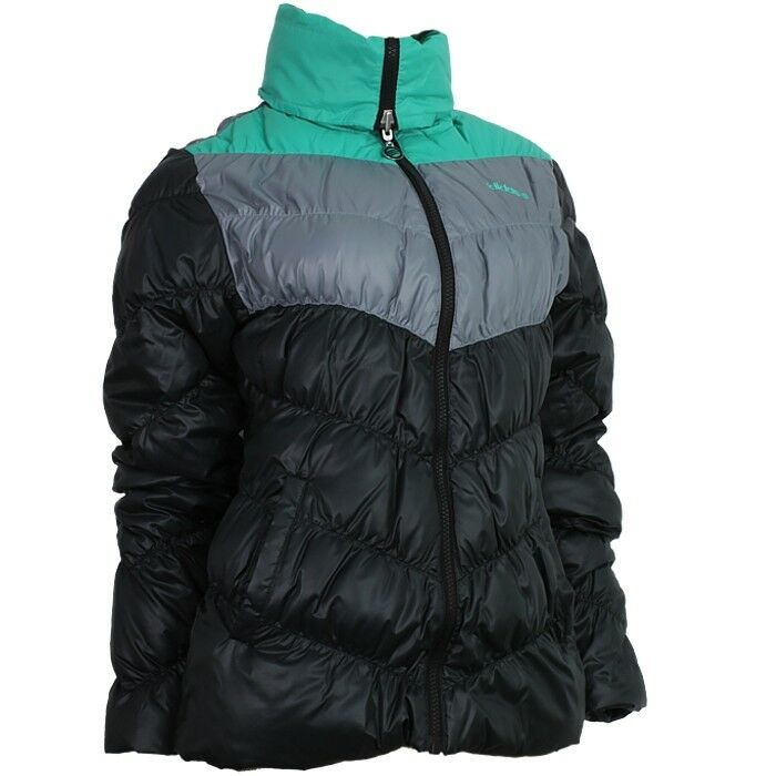 adidas sc cblk schwarz grau gr n damen winterjacke. Black Bedroom Furniture Sets. Home Design Ideas