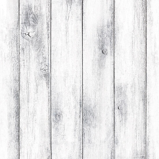 Whitewash Wood Panel Self Adhesive Wallpaper Vinyl