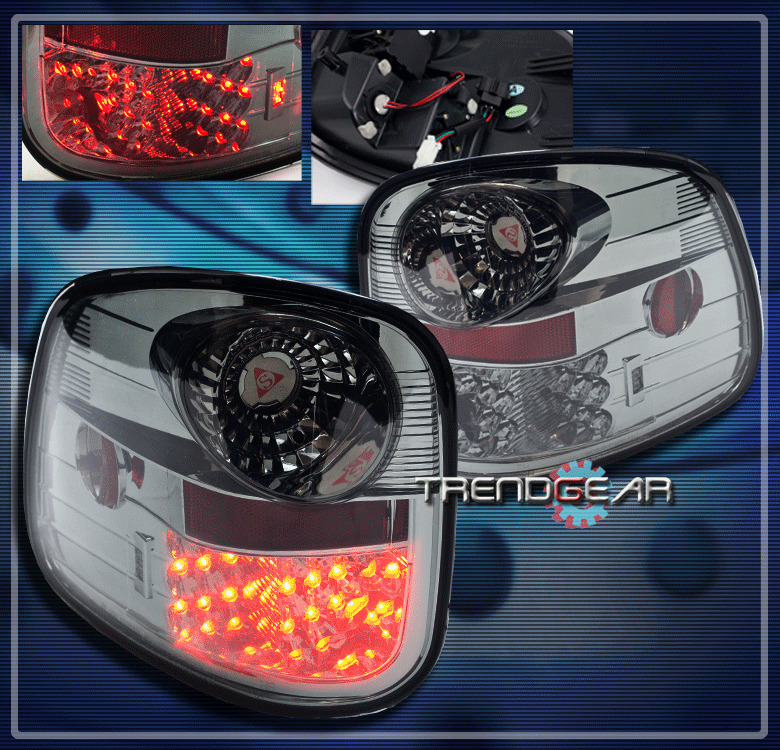 1997 2003 ford f 150 flareside altezza brake led tail lights lamp. Black Bedroom Furniture Sets. Home Design Ideas