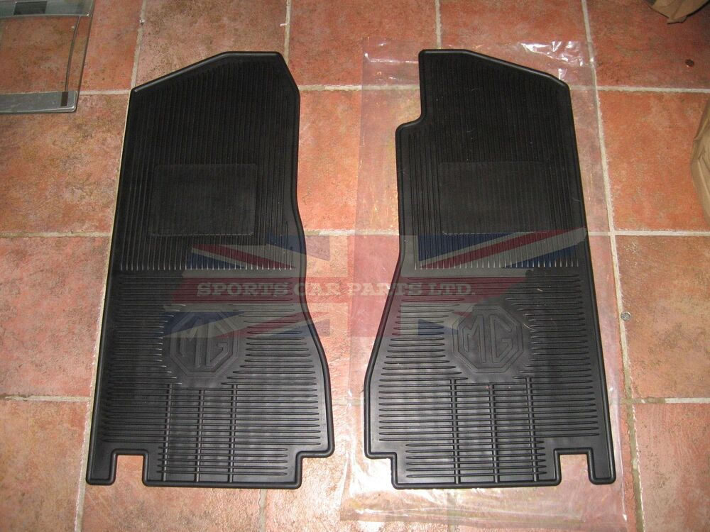 New Set Of Amco Style Rubber Floor Mats Mgb Mgc 1968 1980