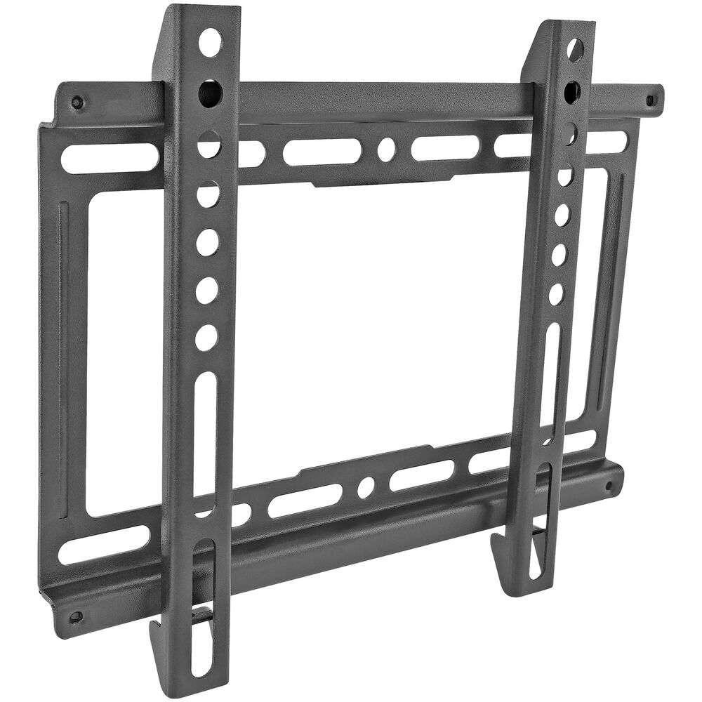 ultra slim tv wall mount bracket 15 up to 42 fit 39 s led lcd plasma ebay. Black Bedroom Furniture Sets. Home Design Ideas