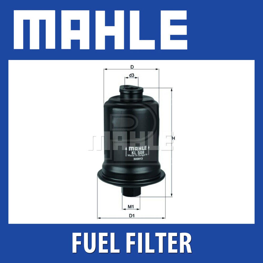 Mahle Fuel Filter Kl508 Fits Hyundai Coupe Lantra Genuine Part Mack Filters Ebay