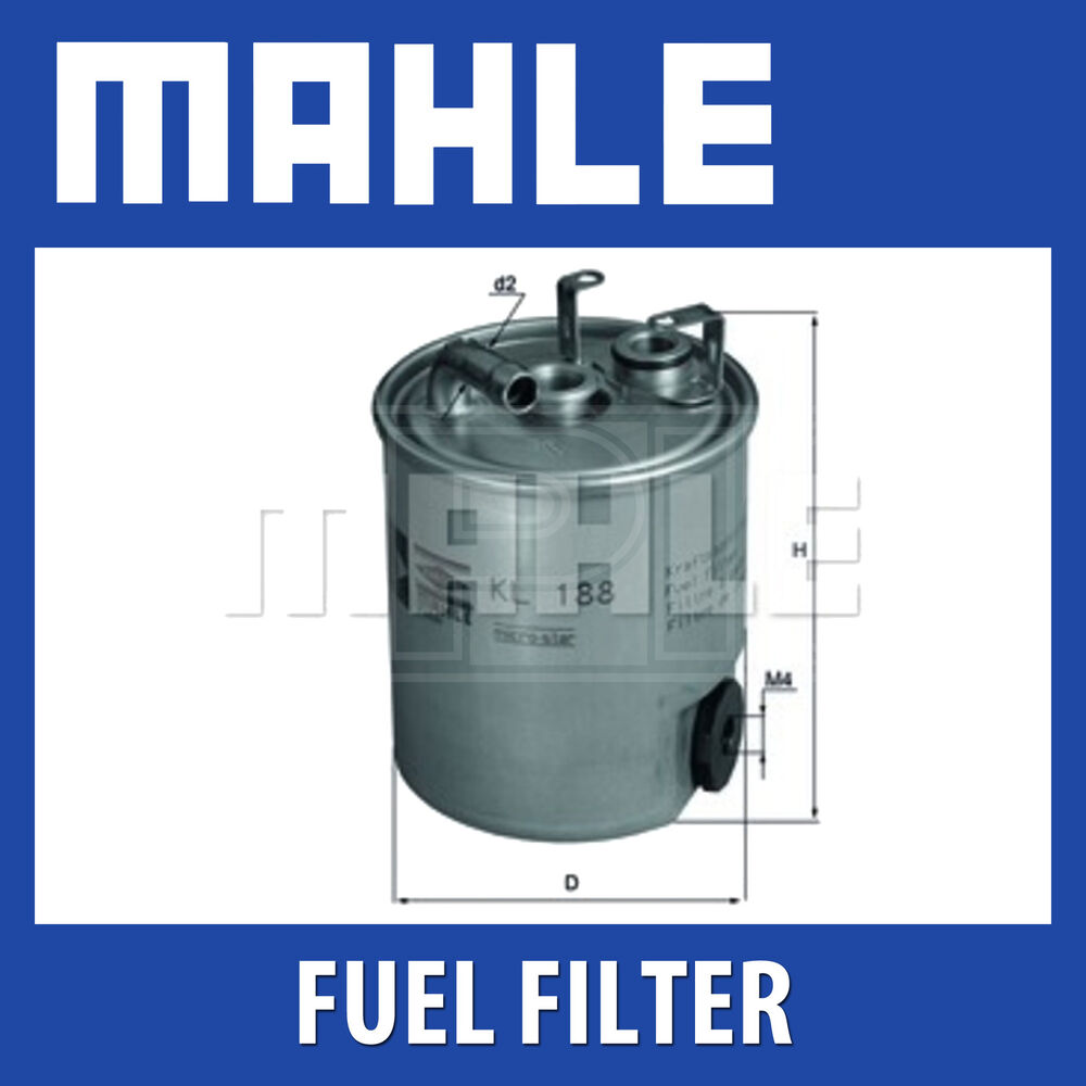 mahle fuel filter kl188 fits jeep grand cherokee 2 7crd. Black Bedroom Furniture Sets. Home Design Ideas