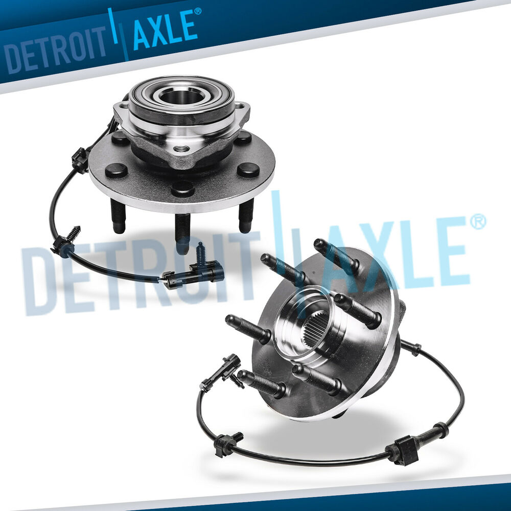 Both (2) Premium Complete Front Wheel Hub Bearing Assembly