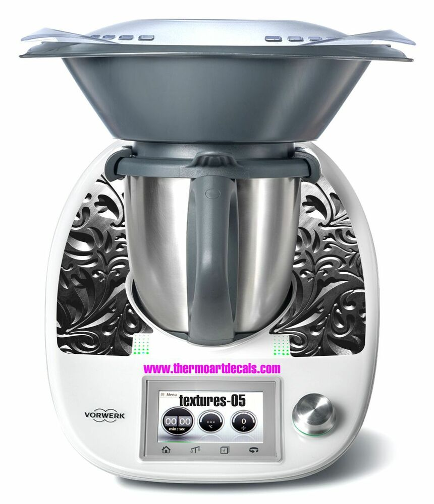 thermomix tm5 sticker decal code texture 05 ebay