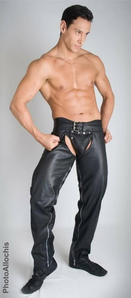 from Justus gay jeans leather