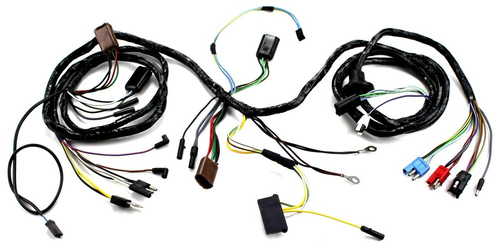 Mustang Head Light Wiring Harness With Tach GT 1967